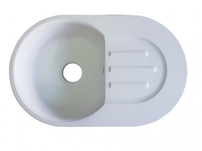 Мойка врезная Екром GF-SM 685 Белый