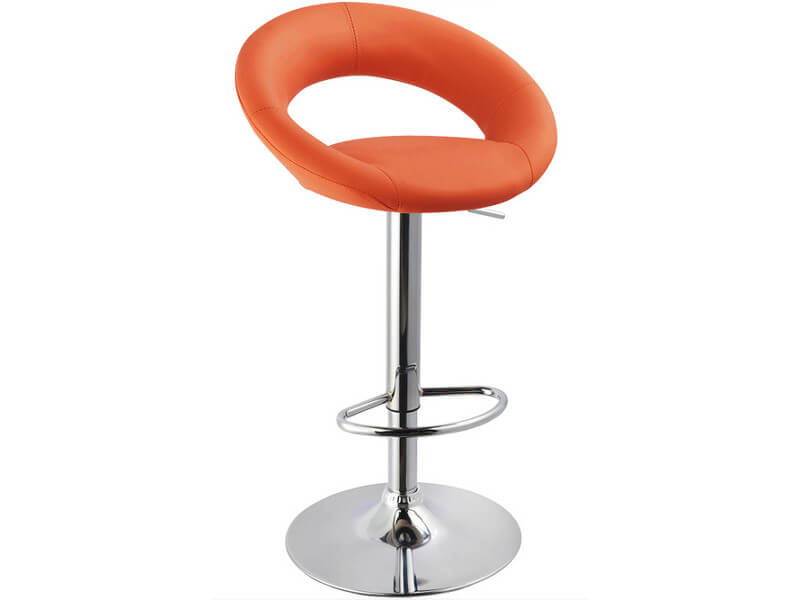 Барный стул WY-171B оранжевый